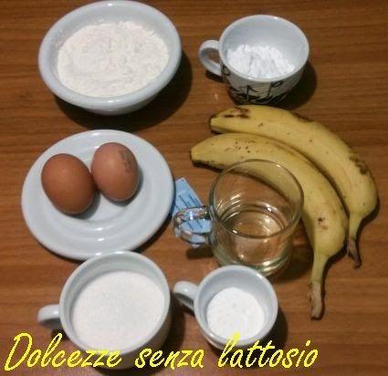 Dolcezze Senza Lattosio: Torta alla banana senza lattosio