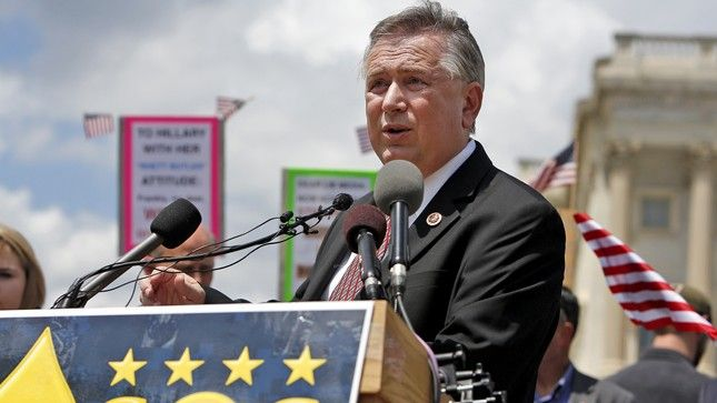 03/17/17 |  Former Texas rep Steve Stockman facing conspiracy charge