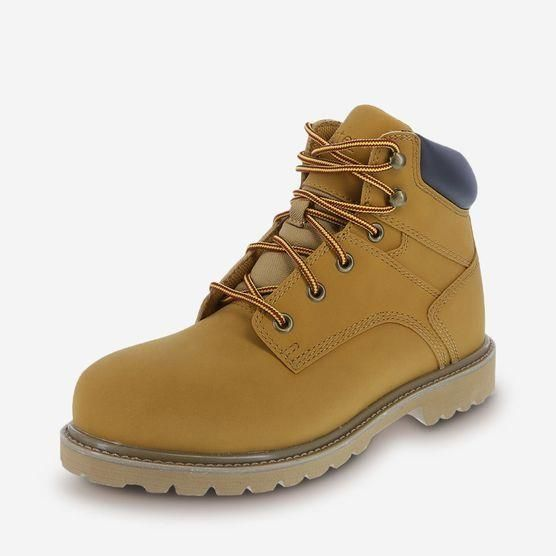 df32696405aa MENS CHAMOIS STEEL TOE WATERPROOF WORK BOOTS BY DEXTER - VEGAN TIMBERLAND  STYLE BOOTS