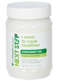Next Step                           Organic Extra Virgin Coconut Oil, 15.0 Ounces , Solid #vssummersweepstakes