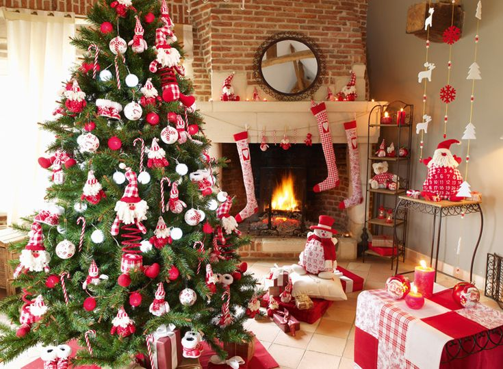 17 best images about décor de noel classique on pinterest | trees