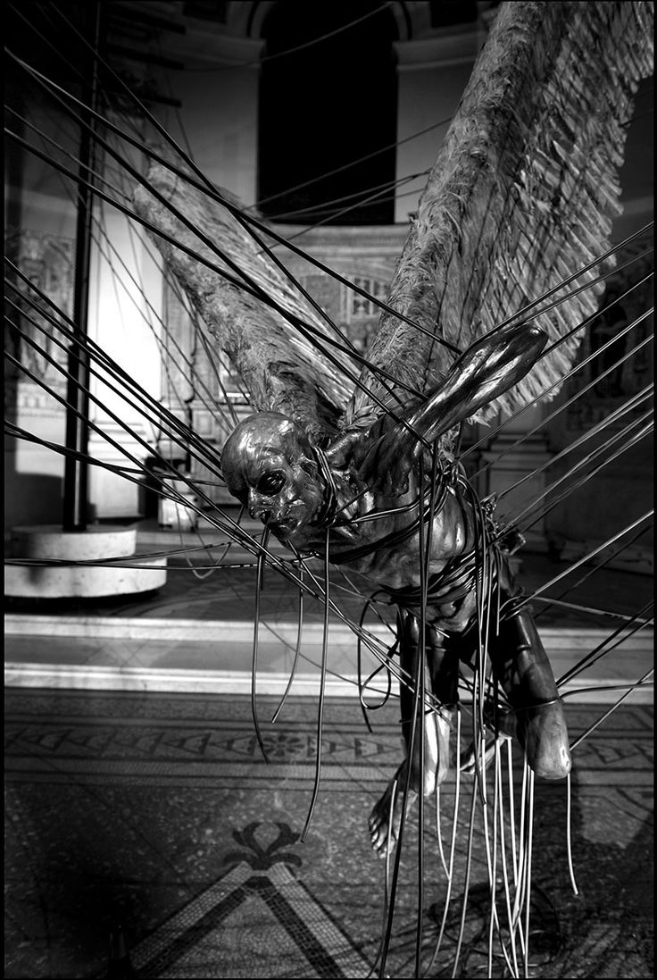 Lucifer (Morning Star) by Paul Fryer (Installation in the ...