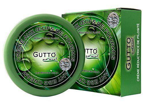 GUTTO - crème réductrice de poils à l'huile d'œuf de fourmis 150 ml