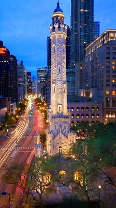 """Chicago, the """"Magnificant Mile"""""""