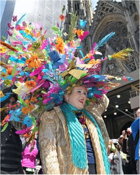 The best Easter bonnet at the parade!