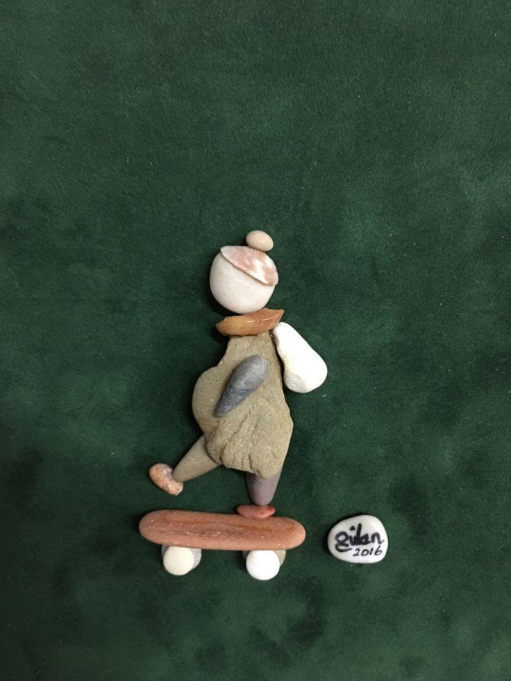 Pebbleart skateboard kids by gülen
