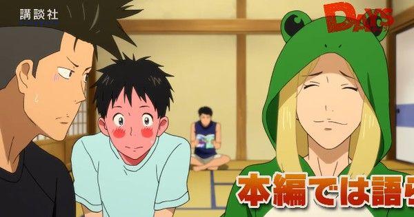 DAYS Original Anime DVD Preview Show 'Dice Talk' Game