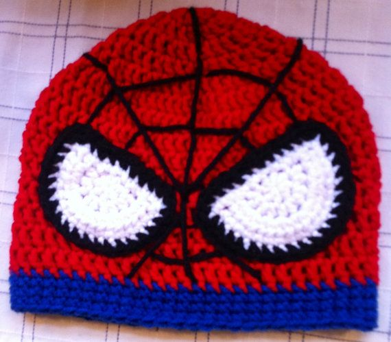 Hey, I found this really awesome Etsy listing at https://www.etsy.com/listing/118556306/spider-man-hat