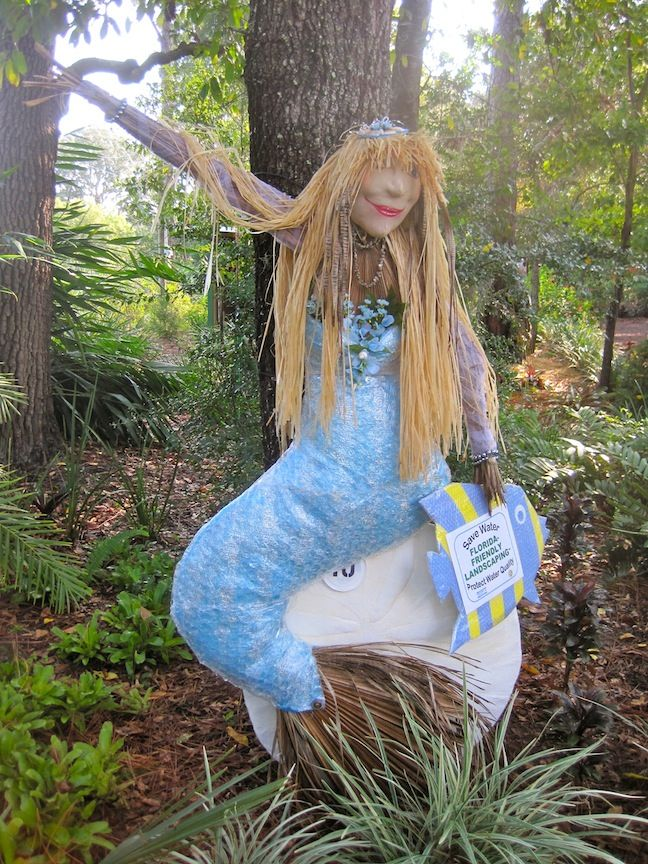 17 Best Images About Mermaid Scarecrows On Pinterest