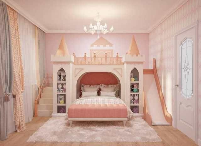 Massivholz Prinzessin Bett Schloss Bett In 2020