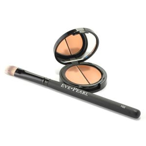"""Revolutionizing the use of the """"Salmon"""" shade as an under eye concealer to neutralize discoloration and brighten the area."""