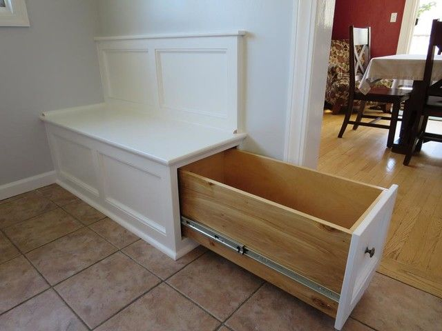 Pin On Dream Home Ideas Kitchen nooks with storage benches
