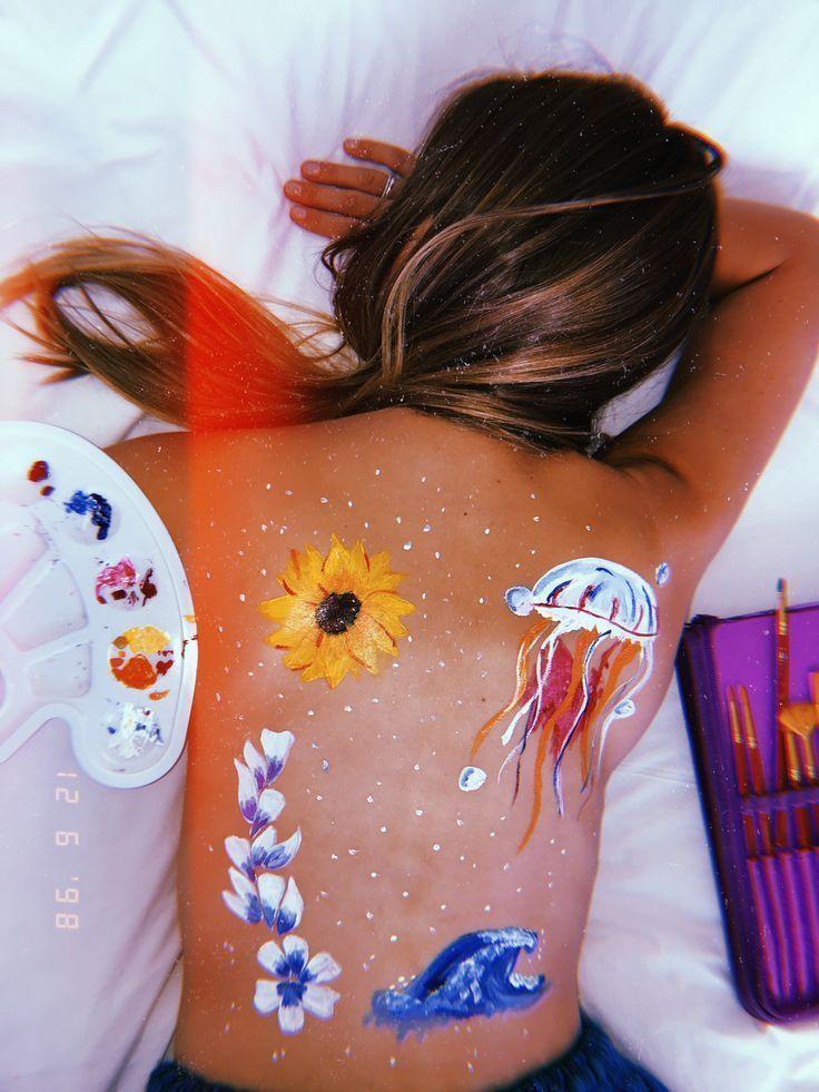 Idées audacieuses pour l'art de peindre du corps à essayer, courbatures, corps …   – Körperkunst