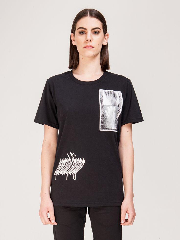 MISBHV , Antwerp Kadın T-shirt Siyah #shopigo#shopigono17#shoponline#womenswear