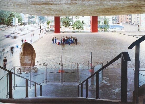 Museo de Arte de São Paulo, Brazil 1958 .