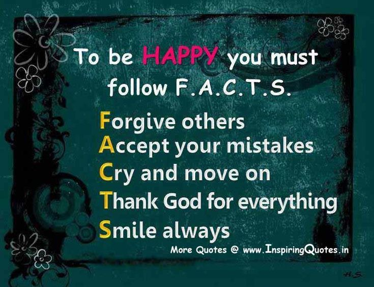 Funny Happy Thoughts Quotes | Steps To Be Happy In Life