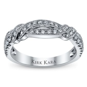 Be Captivated By Kirk Karas Wedding Bands And Anniversary Rings Like This Sparkling Beauty