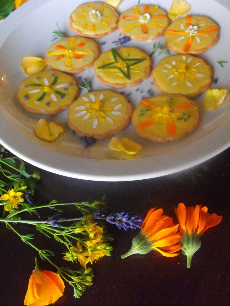 Sweet Magic: Summer Solstice Honey Cookies