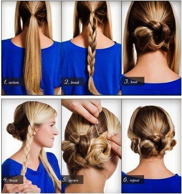 peinados paso a paso hermosos recogidos