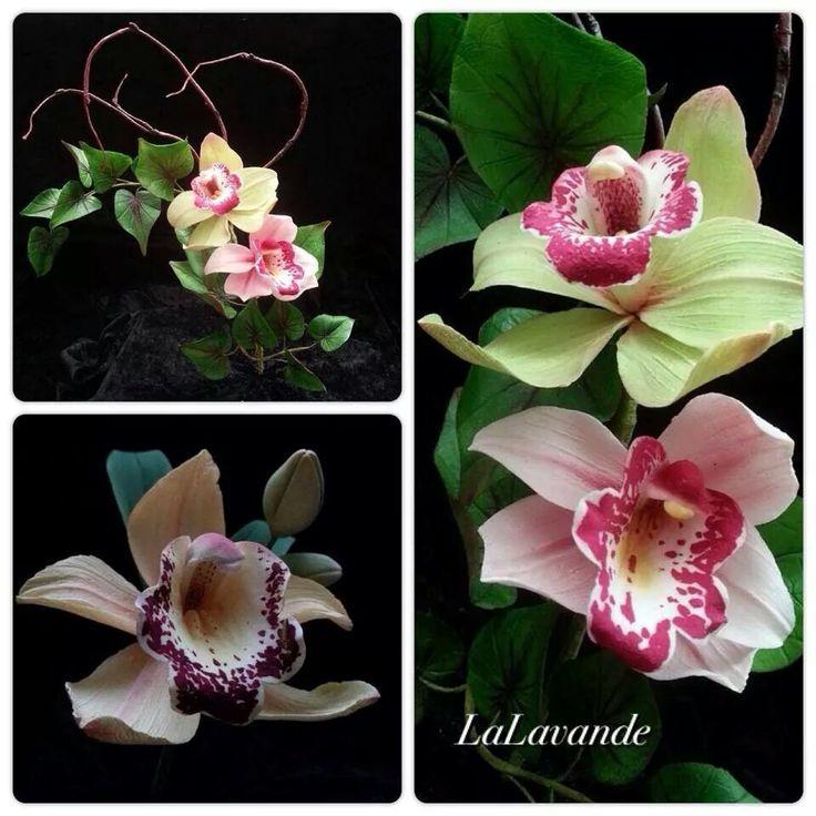 La Lavande Cake Boutique | beautiful sugar orchids