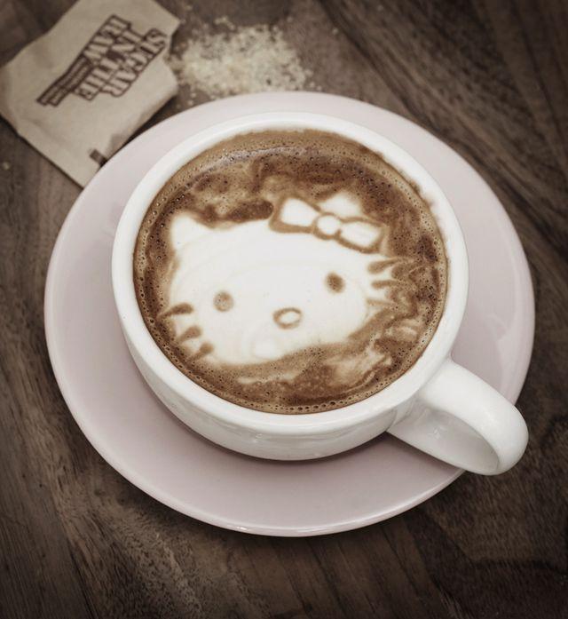 cutest cappuccino ever!