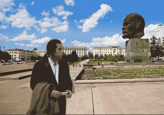 """loroscopodileobreznev:  """" Vincent Vega in Ulan-Ude.  """""""