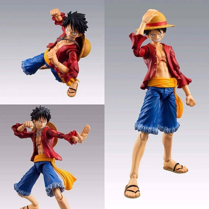 From MegaHouses Variable Action Heroes line comes this incredible PVC action figure of Monkey D Luffy from the popular anime series One Piece.   The figure stands approx. 18 cm tall and features flexible PVC parts that allow you to display this beauty in many different poses.   For more figures & statues come by Animegami Store   #monkeydluffy #luffy #onepiece #anime #manga #strawhat #toys #collection   http://ift.tt/2bebfyV