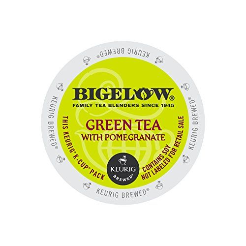 Bigelow Green Tea with Pomegranate, Keurig K-Cups, 72 Count -- You can find out more details at the link of the image.