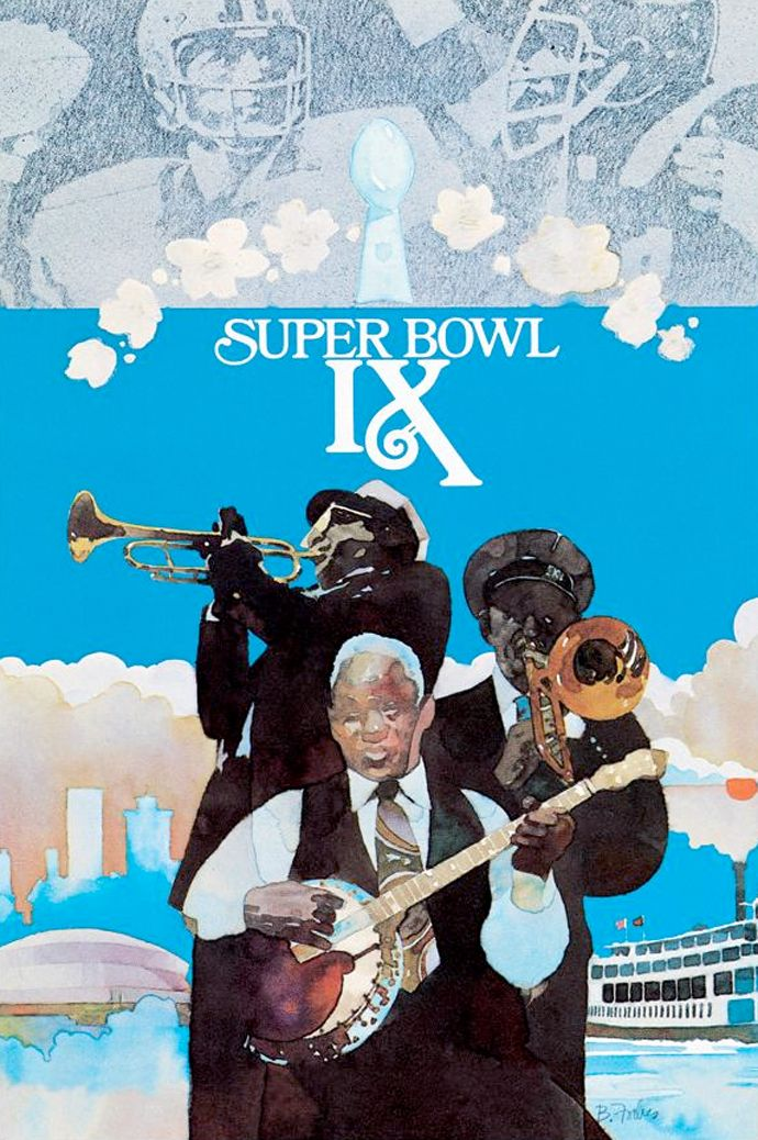 Super Bowl IX matched two of the NFL's best defenses – Pittsburgh's Steel Curtain against the Purple People Eaters of Minnesota – and two legendary quarterbacks: Terry Bradshaw and Fran Tarkenton, respectively.