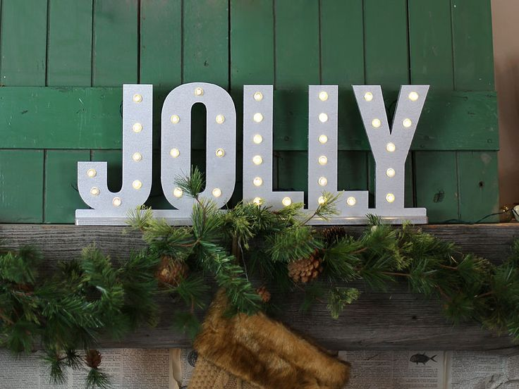 How to Create Festive Lighted Letters   Craftcuts.com