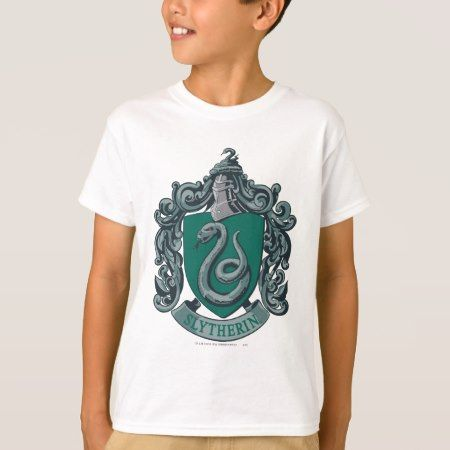 Harry Potter | Slytherin Crest Green T-Shirt - click to get yours right now!