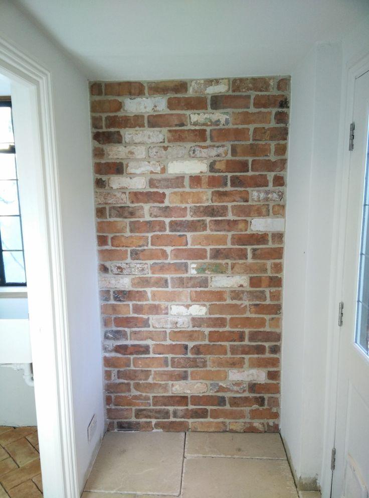 Reclaimed Brick Slips Brick Interior Wall Reclaimed