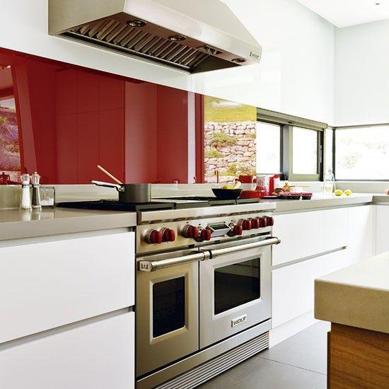 White Kitchen Red Splashback 19 best stylish kitchen splash backs images on pinterest | stylish