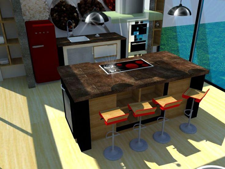 9 best Isla de Cucina. SketchUp. Diseño propio. images on Pinterest ...