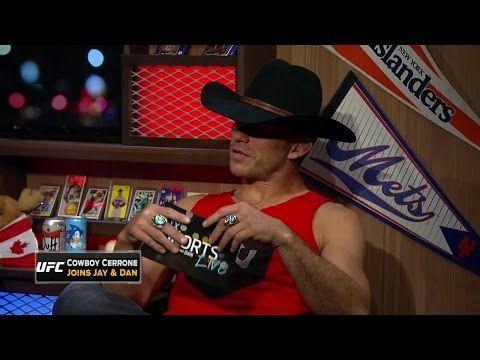 FOX Sports Live: Donald 'Cowboy' Cerrone reads cowboy dialogue