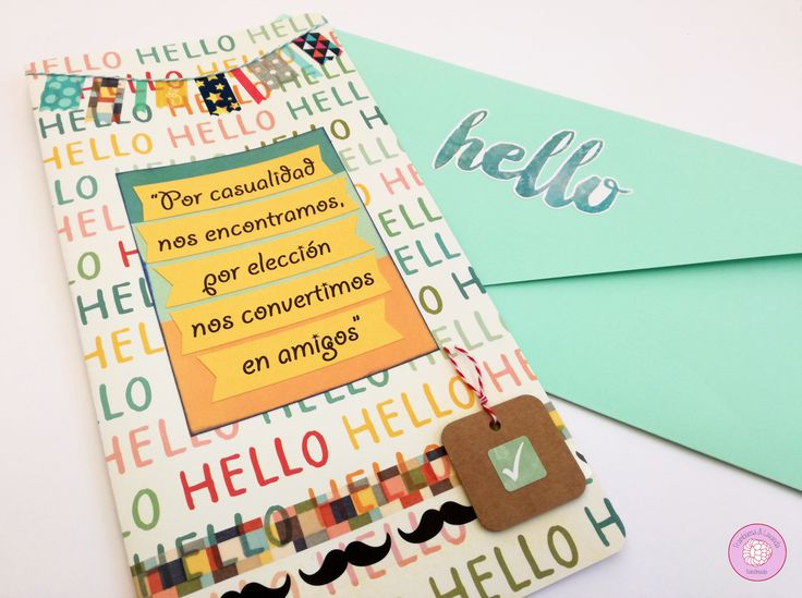 #tarjeta #felicitacion #personalizada #handmade #hechaamano #scrap #papeleriacreativa