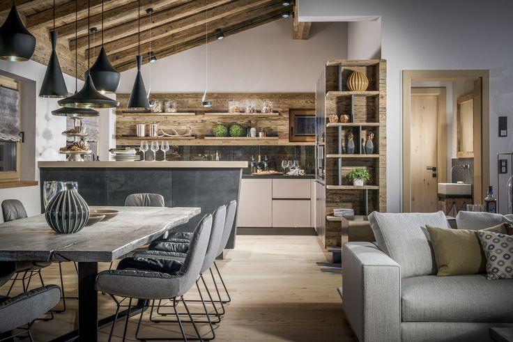 ceiling: Più alto 3d | pendular (kitchen): Sento filo