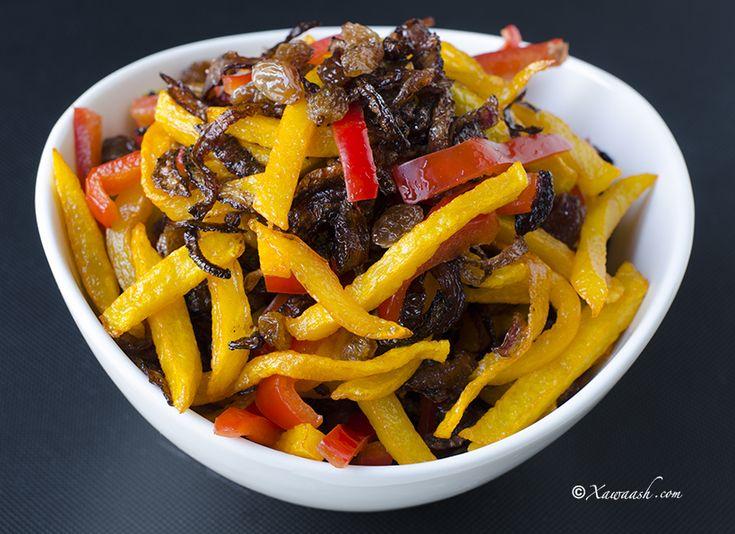 Somali Rice Topping (Korkasaarka Bariiska) خلطة اﻷرز | Xawaash.com