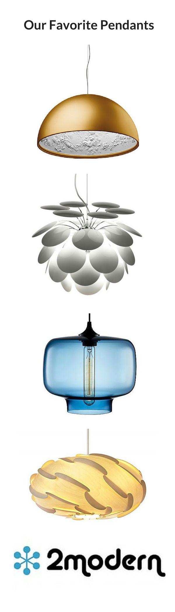 Modern Pendant Lighting. Marset, FLOS, dForm and Niche Modern.  #2Modern