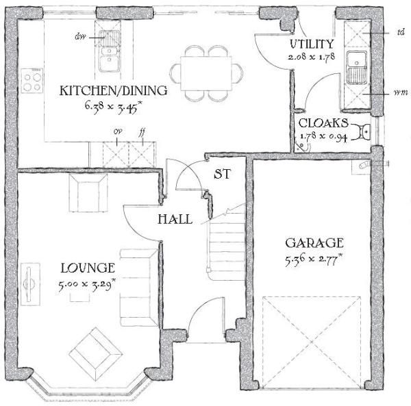 Redrow floorplan idea