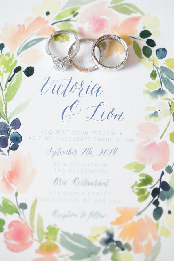10 best fine art wedding | invitation images on Pinterest | Bridal ...