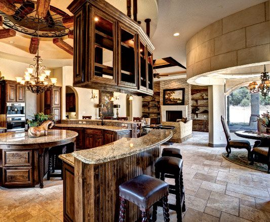 Catrina's Ranch Interiors Kitchen | Kitchen House ...