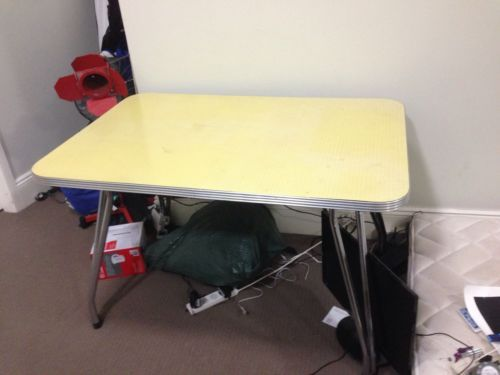 Retro Dining Room Laminex Table in Sydney, NSW  eBay
