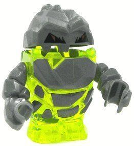 Rock Monster Sulfurix TransNeon Green  LEGO Power Miners Minifigure