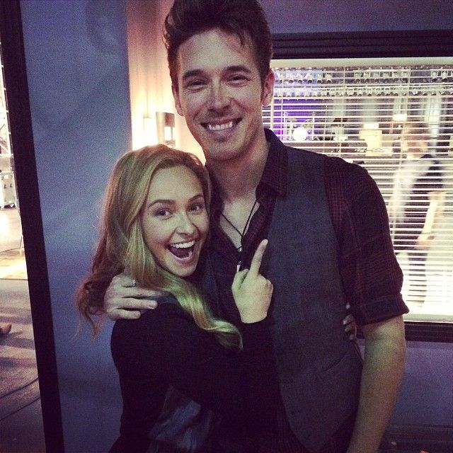 Hayden Panettiere and Sam Palladio. I love both these amazing, talented people :)