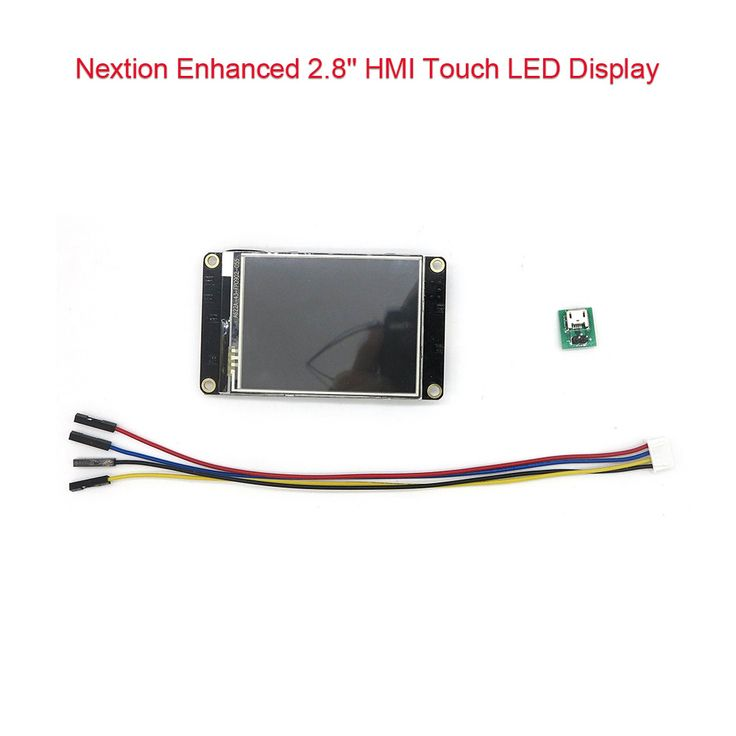 DIYmall Nextion Enhanced 2.8 inch LED LCD Display TFT Module DIYmall Nextion Enhanced 2.8 inch LED LCD Display TFT Module