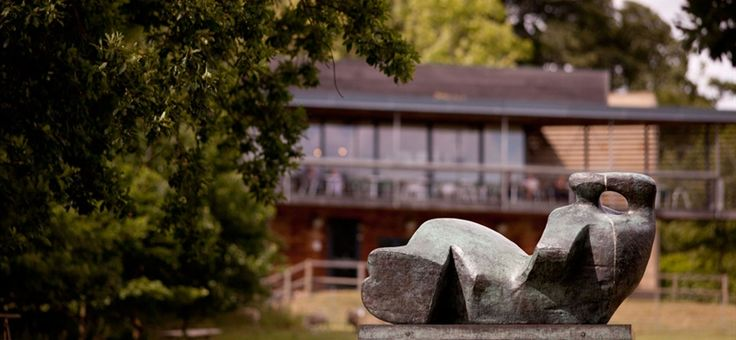 Yorkshire Sculpture Park - An open air gallery showing work by Henry Moore, Barbara Hepworth and international artists. Its a beautiful place to visit set in glorious English countryside #travel #UK #Yorkshire