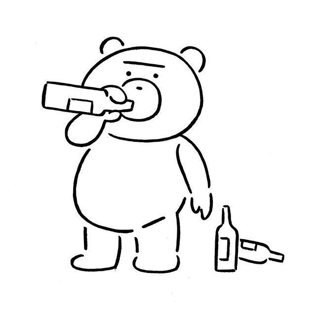 Ted #ted #yunagaba #kaerusensei #長場雄 #art