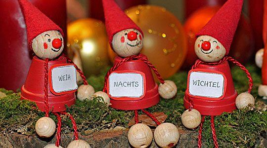 Weihnachtsdeko selber basteln: Wichtel
