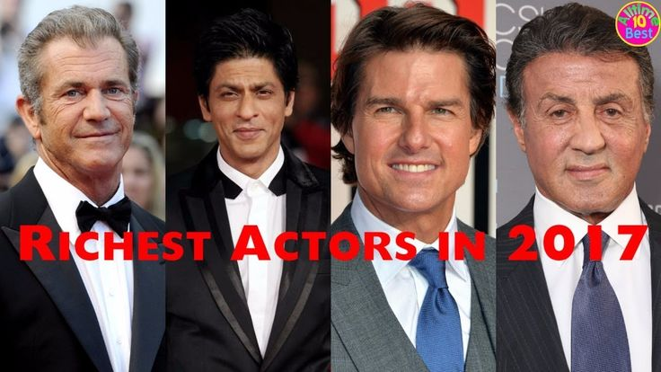 Top 5 Richest Actors In The World